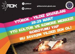 Yıldız Savaşları '15 @ Yıldız Teknik Üniversitesi Davutpaşa Kampüsü | İstanbul | İstanbul İli | Türkiye