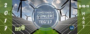 TEMİZ ENERJİ GÜNLERİ 2017 @ Süleyman Demirel Kültür Merkezi | İstanbul | Türkiye